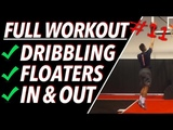 How To Shoot A Floater Full Basketball Workout #11 Pro Training Basketball