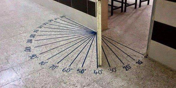 Просто вход в кабинет математики