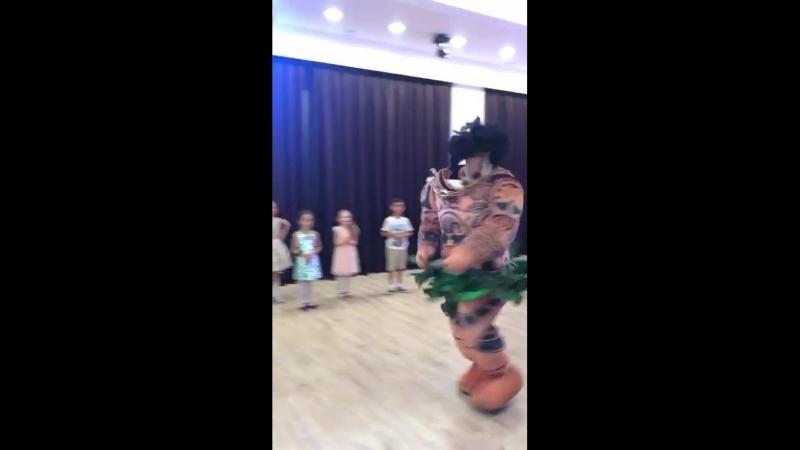 Вечеринка Моана с Мауи в Protalent