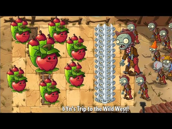 Pvz 2 - Lightning Reed and Apple Mortar and SunFlower