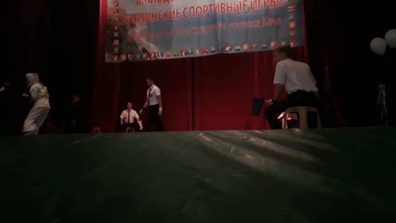 Максим певый бой Кача 2018