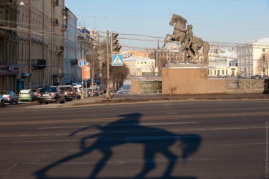 Санкт-Петербург экскурсия Невский проспект Аничков мост