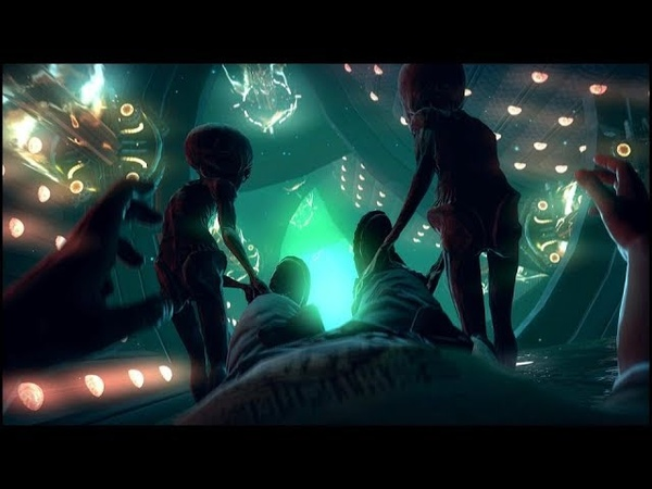 Пацаны забрались в НЛО и впервые сняли на телефон настоящих пришельцев серого цвета
