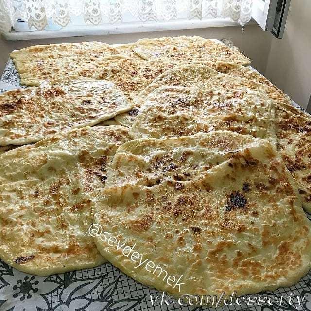 Ароматные и вкусные хычины с сыром и картофелем