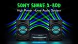 Sony Shake X30D High Power Home Audio System Bluetooth Speaker DJ, Karaoke and Hifi Music System