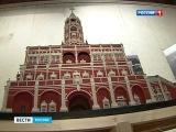 Сухарева башня в музее архитектуры им. А.В. Щусева