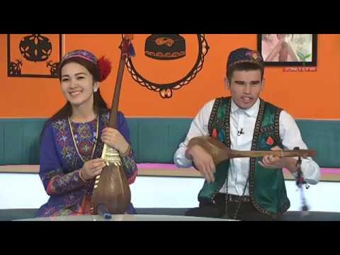 """Ahror baxshi """"Yangi kun"""" dasturida jonli ijroni qoyillatdi."""