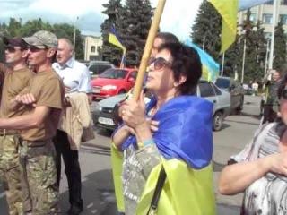 Народное Вече и автопробег в Славянске 15 мая 21016 г.