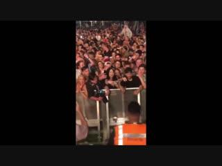 Skrillex - Инстаграм истории с финала тура по Австралии