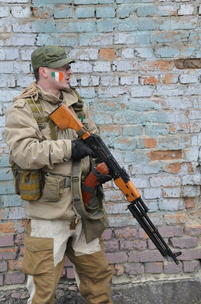 командир украинской страйкбольной команды Чеглок