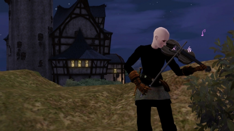 The Sims Medieval - Полонез Толстопятко (Рыцарь-капитан Abery)