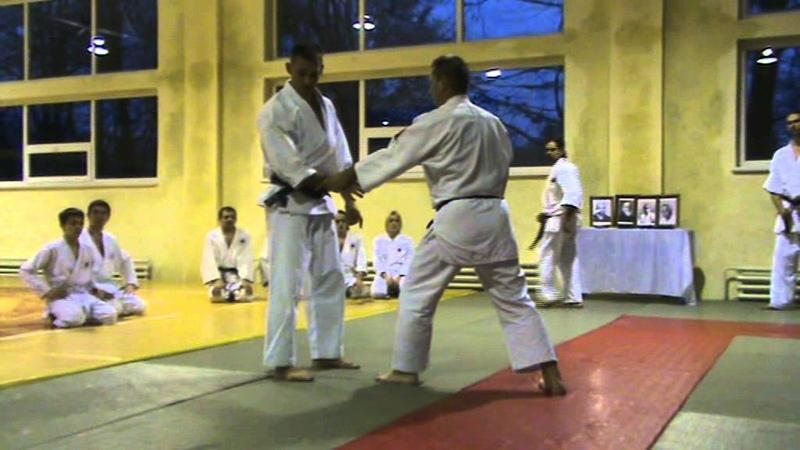 Мотоха Йошин рю Дзю Дзюцу. ріоте дорі - гьяку кіме дорі (Jiu Jitsu seminar)