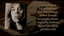 Charlotte Gainsbourg L'un part l'autre reste with lyrics