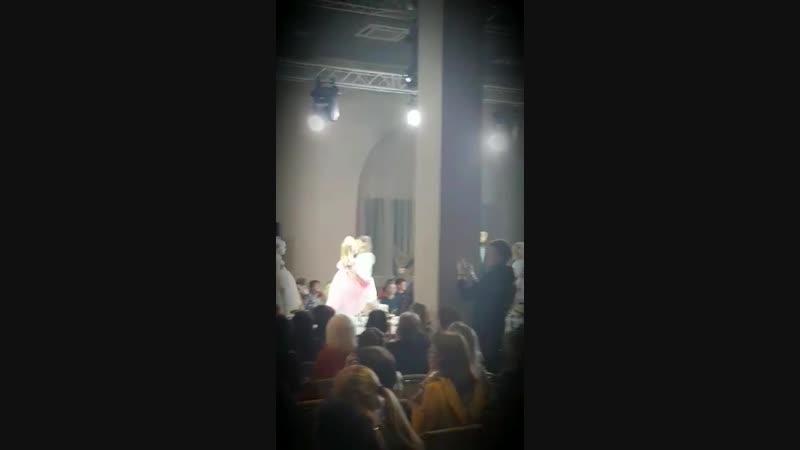Неделя Моды Estet Fashion Week в Москве 17.11.18г Дизайнер BLOOMY-LINE