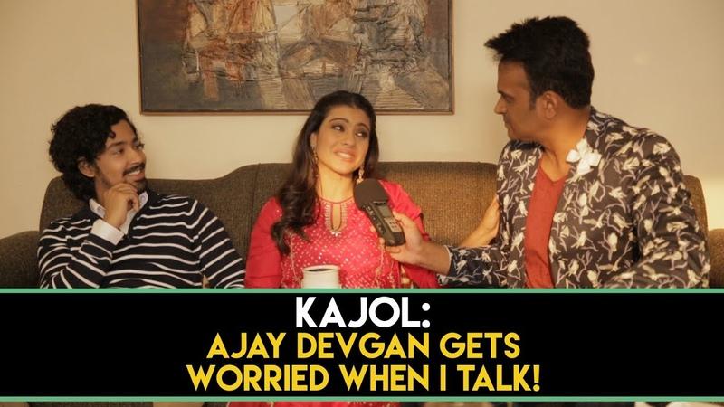 Kajol : 'Ajay Devgan gets worried when I talk!' HelicopterEla Part 1