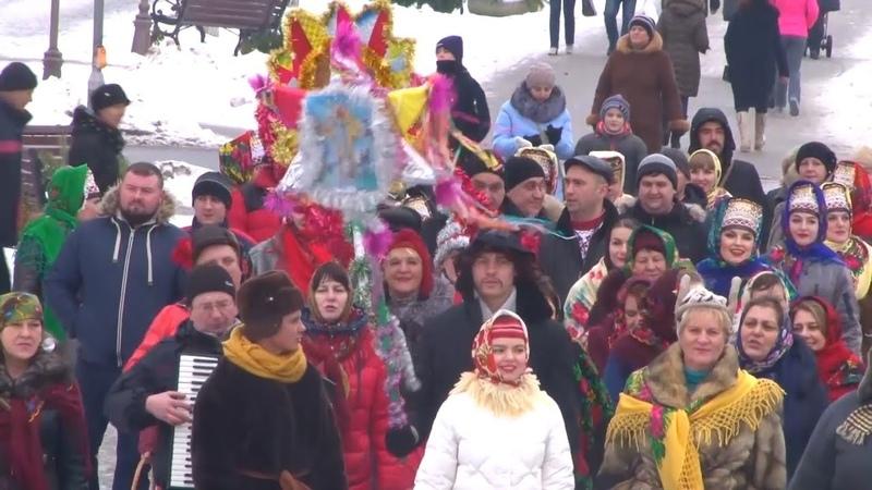"""""""Як на Шчодрую куццю"""" в Пинске отметили Старый Новый год"""