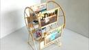 Làm khung ảnh cối xay gió bằng que kem   how to make swing wheel photo frame