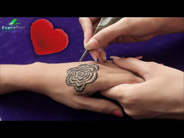 How to Apply Beautiful Mehndi Hand Step by Step