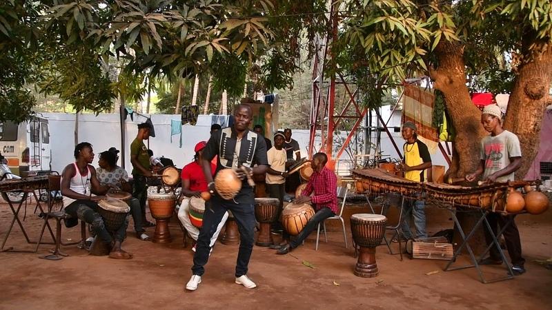 Bwazan at Maison des Jeunes, Bamako, Mali, Feb 2018 6-0595