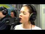 Нюша - Выше (LIVE Авторадио настоящий голос без обработки, 27.05.14)