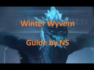 Dota 2 Winter Wyvern guide - Гайд на Виверну в Дота 2 - by NS