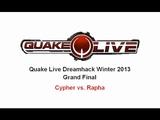 Quake Live DHW 2013 Grand Final - Cypher vs. Rapha