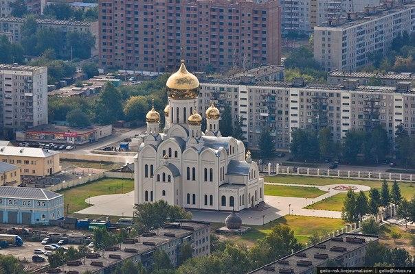 Новосибирск. Самые красивые города России