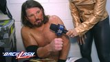 AJ Styles wants to make Shinsuke Nakamura pay for his low blows WWE Backlash Exclusive, May 6, 2018