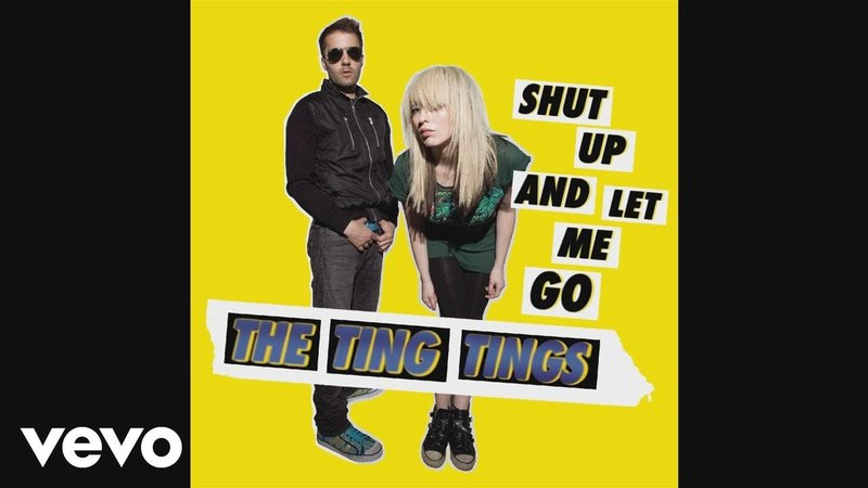 The Ting Tings - Shut Up and Let Me Go (Instrumental) (Audio)