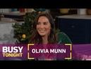 Olivia Munn Recalls Jamie Foxx Giving Her Sage Dating Advice | Busy Tonight | E!