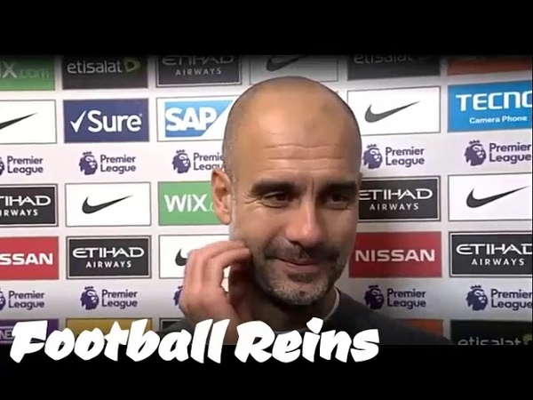 Man City vs Man United-Pep Guardiola Postmatch Interview