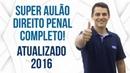 Super Aulão Direito Penal - Atualizado 2016 - AlfaCon Concursos Públicos