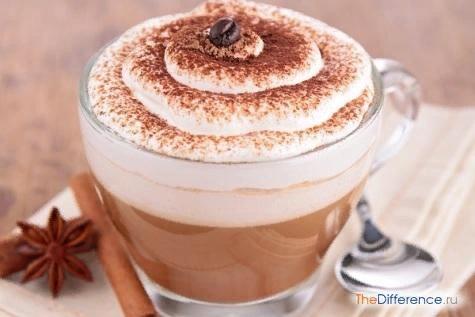 Разница между капучино и кофе Разобраться во множестве напитков человеку, который не занимается профессионально их приготовлением, иногда бывает непросто. В частности, нередко возникает вопрос,
