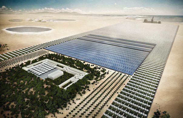 0,3% солнечной энергии пустыни