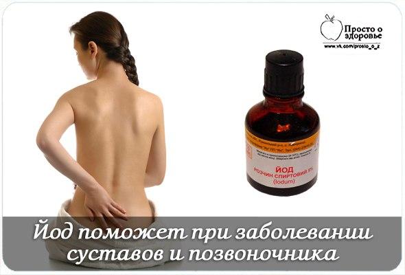 Рецепт для лечения остеохондроза