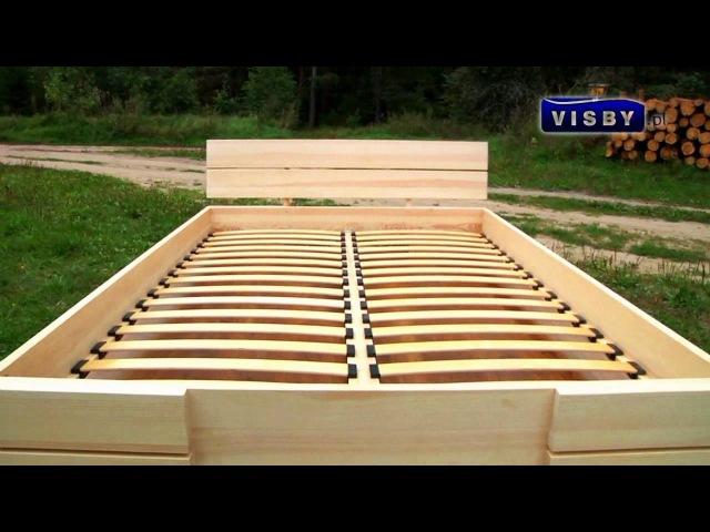 Кровать Visby Sandemo - www.polmeb.ru