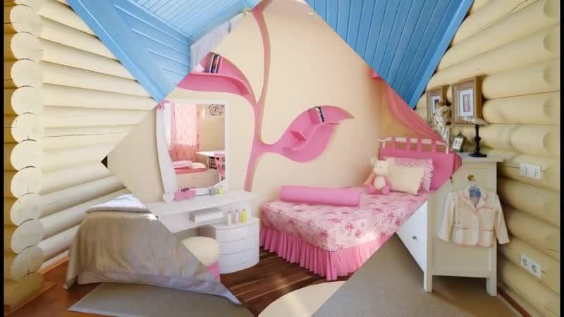 Идеи дизайна детской комнаты для девочек-Евроремонт