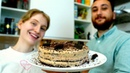 Новогодний торт ЧЁРНЫЙ ЛЕС без яиц и молока!
