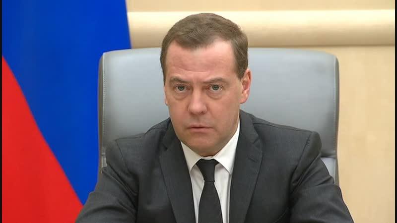 Цены на топливо: Медведев надеется, что до крайних мер не дойдет