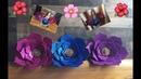 DIY Como hacer flores en Foami o Goma Eva Perfectas para decorar eventos