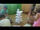 Башни из бумаги - командная работа