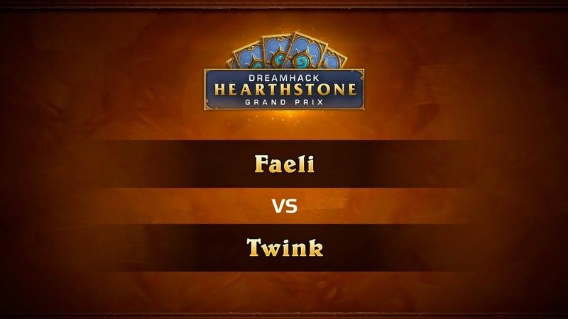Faeli vs Twink, 1/4, DreamHack Summer 2018