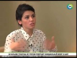 Katie Melua ( Кэти Мелуа ) in Moscow . Interview . #simplified