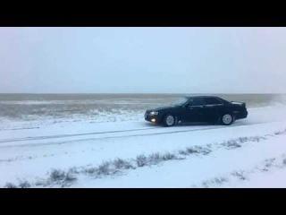 чайзер дрифт Омск-Исилькуль зима!!!!!!