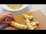 youtube.com/TheTGym FITNESS рецепты FITNESS рецепты - Овсяное печенье на завтрак.