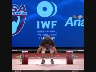 Муххамед Эхаб 196 кг