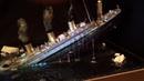RMS TITANIC - Model sinking diorama
