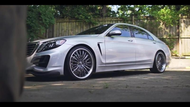 "ZOLL_HD 2015 W222 Mercedes S550 LORINSER on 22"" Lexani Forged \\\ ZOLLHD NERCEDES W222"