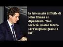 MARCHIONNE LA DIFFICILE LETTERA DI JOHN ELKANN AI DIPENDENTI NON TORNERA' TESTO INTEGRALE