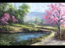 Spring Day Painting art Demo